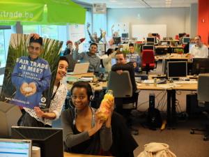 iedereen in de ban van fairtrade@work ! Mooi